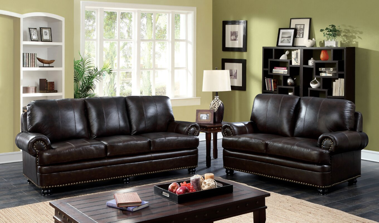 Enitiallab Jagen Leather Configurable Living Room Set
