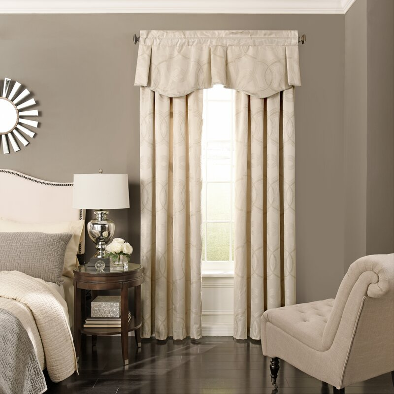 Beautyrest Odette Blackout Curtain Valance | Wayfair