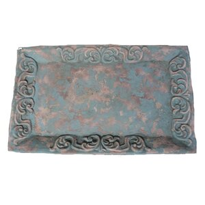 Rectangle Blue Polyfiber Cement Tray