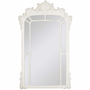 Whitewash Accent Wall Mirror