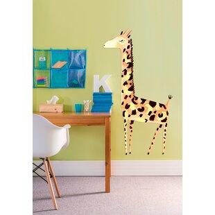 Giant Gentle Giraffe Wall Decal
