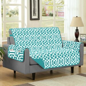 Box Cushion Loveseat Slipcover