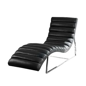 Olney Chaise Lounge  sc 1 st  AllModern : black lounge chaise - Sectionals, Sofas & Couches