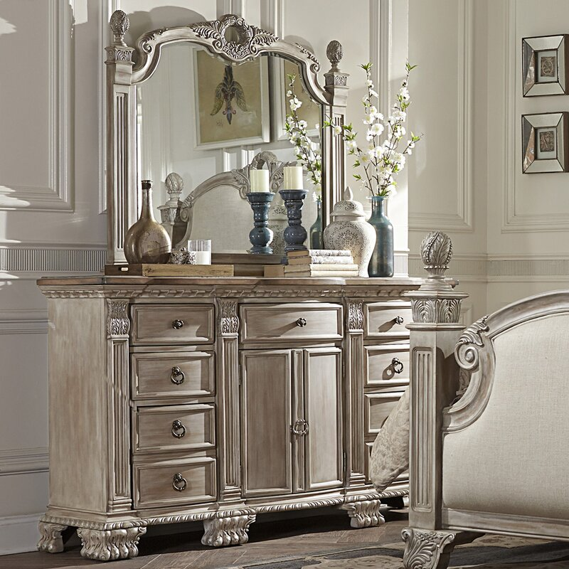 mn incl drawers set minimalist wide cabinet morgan mirror with