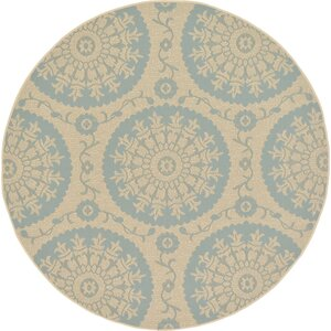 Rundell Beige Outdoor Area Rug