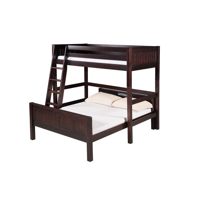 Harriet Bee Oakwood Twin Over Full L Shape Bunk Bed Wayfair Ca