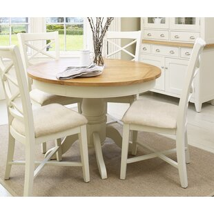 287c3797c295 Archer Round Extendable Dining Set with 4 Chairs