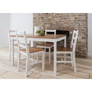 Annika Dining Set With 4 Chairs