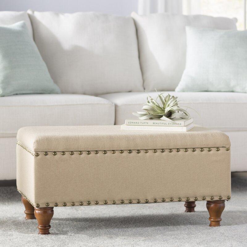 Delicieux Oakford Upholstered Storage Bench
