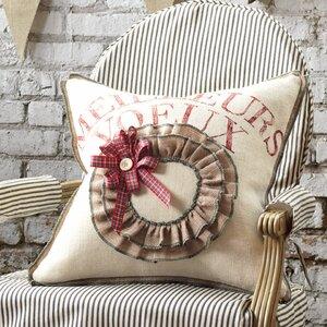 Joyeaux Noel Meilleurs Voeux Throw Pillow