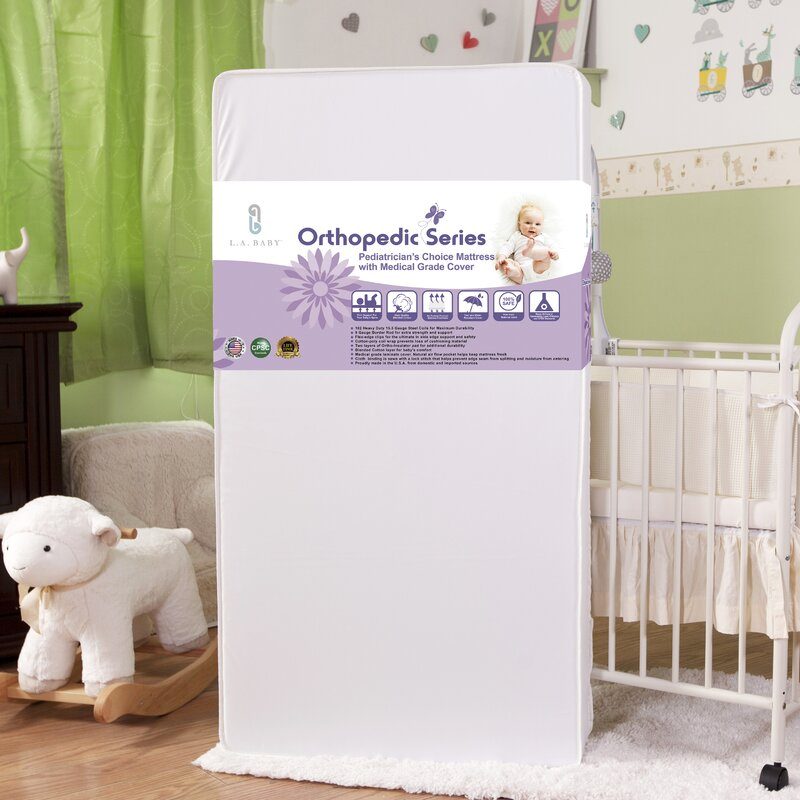 Columbus Crib Rectangular Mattress