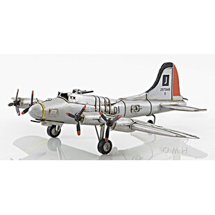 76507633f1e Green B-17 Flying Fortress Airplane Model