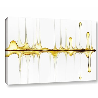 Ebern Designs 'Sweet Sound of Your Voice' Graphic Art on Wrapped Canvas Size: 12 H x 18 W x 2 D
