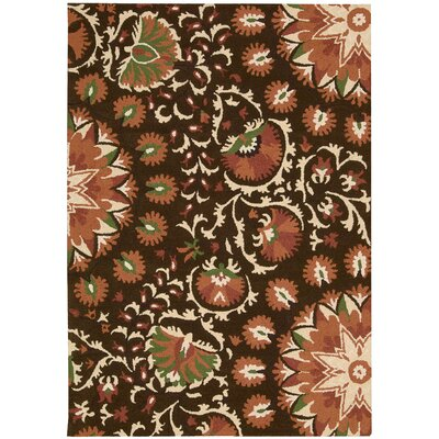Aberdeenshire Hand-tufted Brown Area Rug Charlton Home Rug Size: Rectangle 3