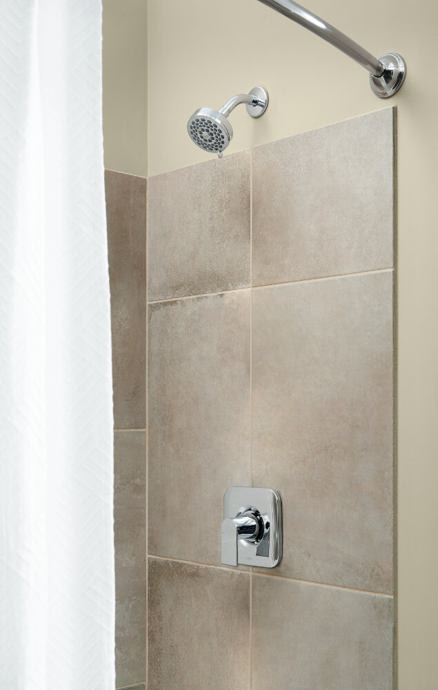 Moen Genta Shower Faucet Lever Handle With Posi Temp U0026 Reviews   Wayfair