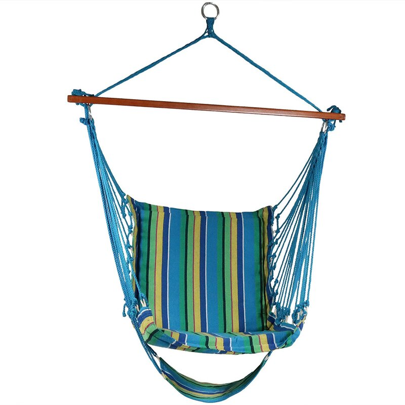 Lila Hanging Padded Soft Cushioned Chair Hammock