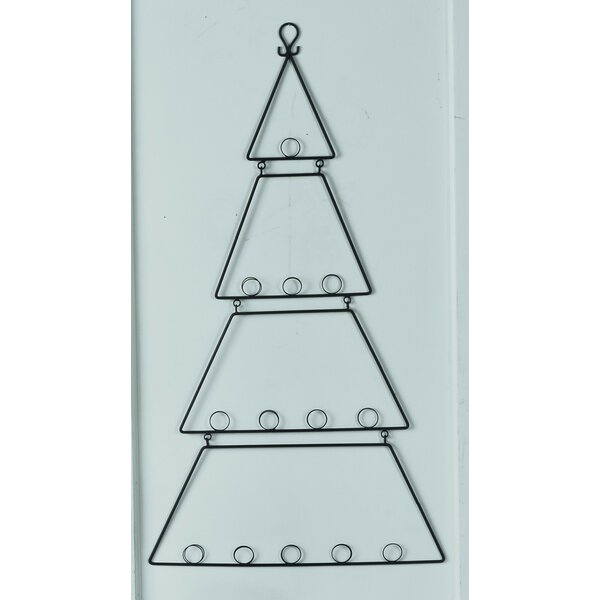 the holiday aisle wall hanging metal tree card holder wayfair - Christmas Card Holder Wall Hanging