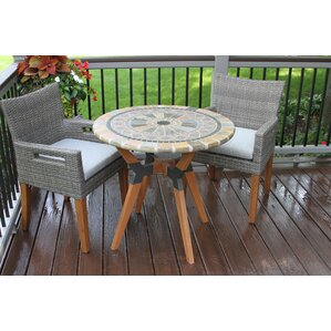 Stone Patio Dining Sets Youll Love Wayfair