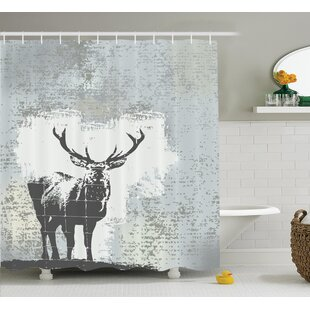 Standing Stag Shower Curtain