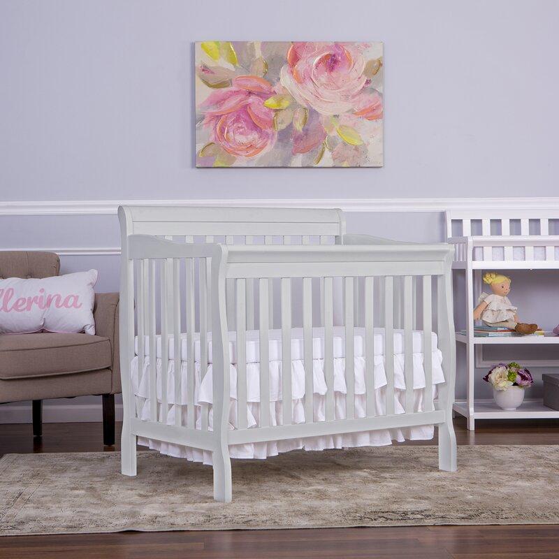 Merveilleux Aden 4 In 1 Convertible Mini Crib