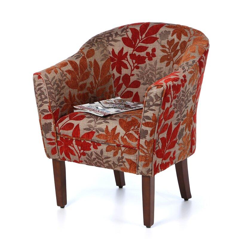 Charlton Home Lambert Barrel Chair Amp Reviews Wayfair