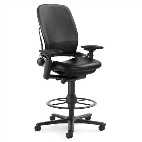 Steelcase Leap 174 High Back Leather Drafting Chair Amp Reviews
