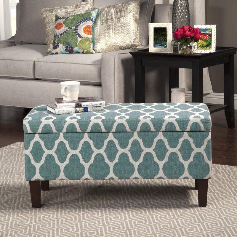 Clare Tokatli Upholstered Storage Bench