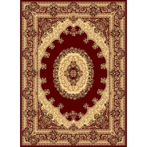 Gloucester Red Area Rug