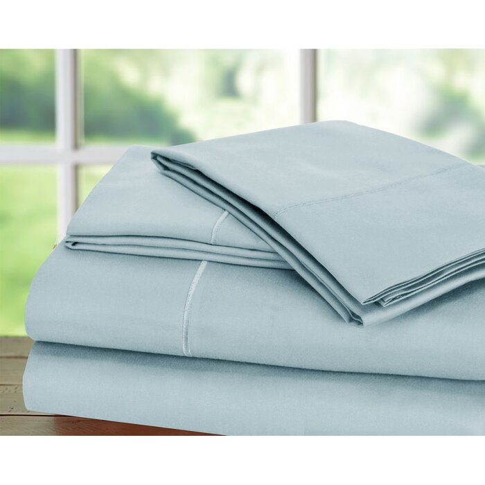 Canora Grey Dimondale 1000 Thread Count 100 Egyptian Quality Cotton Sheet Set Reviews Wayfair