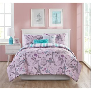 Perfect Dierking When In Paris Reversible Comforter Set