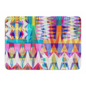 Triangle Collage by Miranda Mol Bath Mat