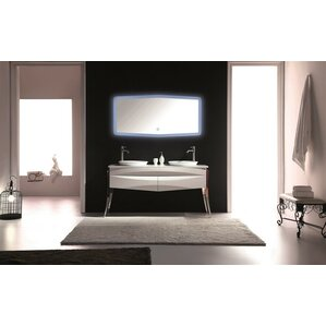 Modern & Contemporary High Gloss Bathroom Vanity | AllModern