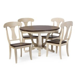 Bridgeyate 5 Piece Dining Set by Latitude Run