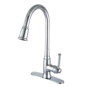 Y Decor Madison Single Handle Deck Mounted Kitchen Faucet
