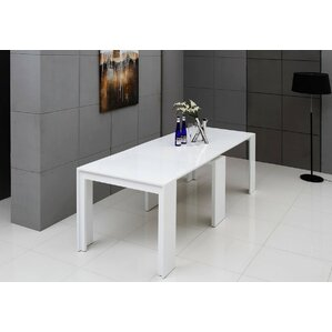 Gerardo Ultra-Compact Extendable Dining Table by Wade Logan