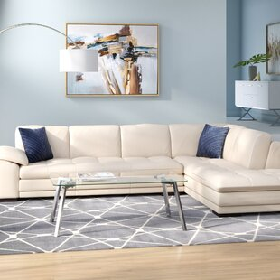 Light Brown Leather Sectional Wayfair