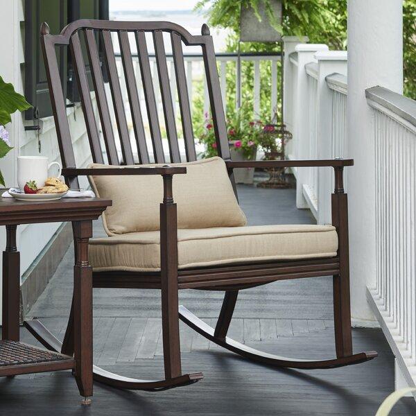 Paula Deen Home River House Porch Rocking Chair With Cushions U0026 Reviews |  Wayfair
