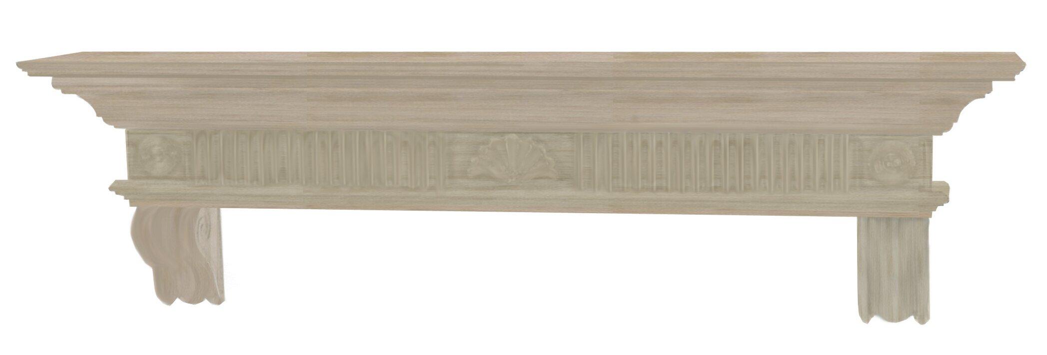pearl mantels devonshire fireplace mantel shelf u0026 reviews wayfair