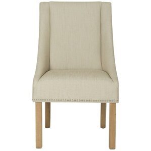 Molly Sloping Arm Chair (Set of 2) by Safavieh