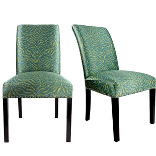 Sayli Upholstered Contemporary Parsons Chair (Set of 2)