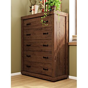Hilton 5 Drawer Chest by Loon Peak