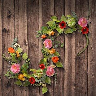 Silk Flower Garlands Wayfair