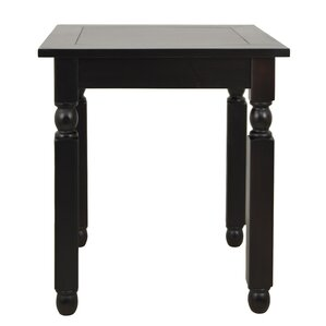 Weaver End Table by Charlton Home