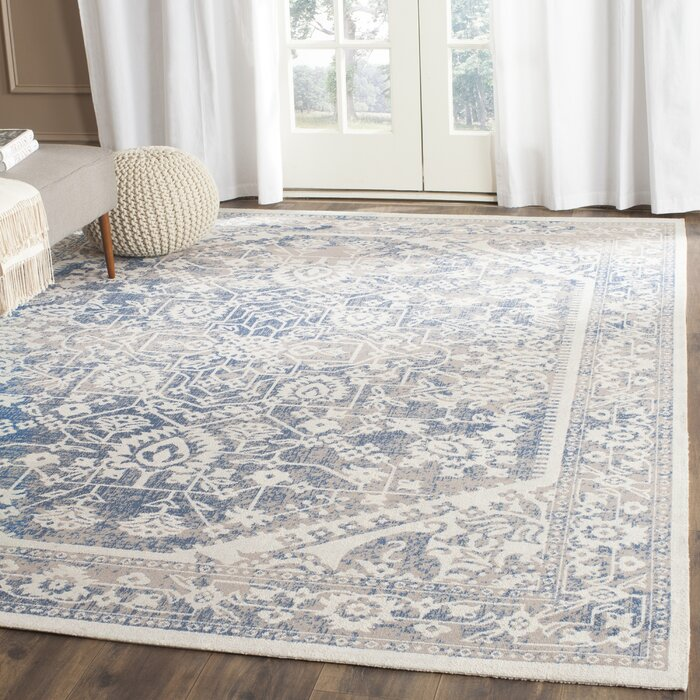 Rhodes Grey/Blue Area Rug