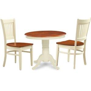 Cedarville 3 Piece Dining Set by Alcott H..