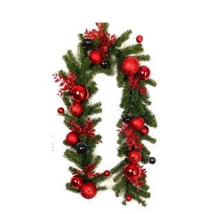 Glitter Christmas Ornaments Ball Garland