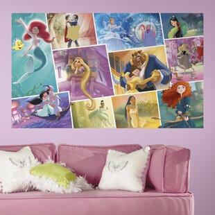 disney princess wall murals wayfair rh wayfair com disney princess wall mural tesco disney princess wall mural ebay