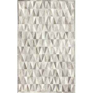 Heath Hand-Woven Grey Area Rug