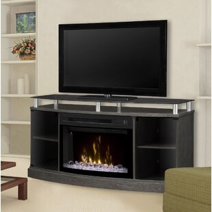 entertainment stand farmington center fireplace electric console with tv pin