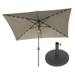 10' X 6.5' Rectangular Lighted Umbrella